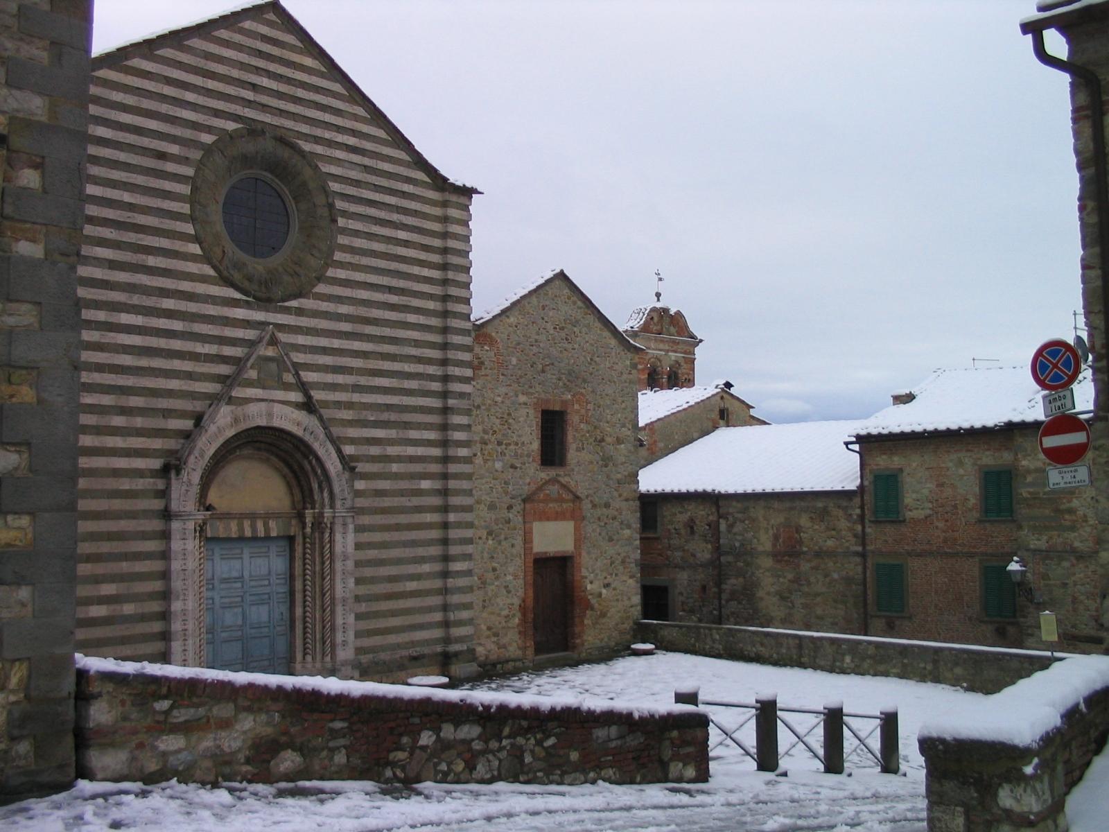 Aperture della Chiesa di San Francesco a Lucignano grazie alla collaborazione Comune - Pro Loco
