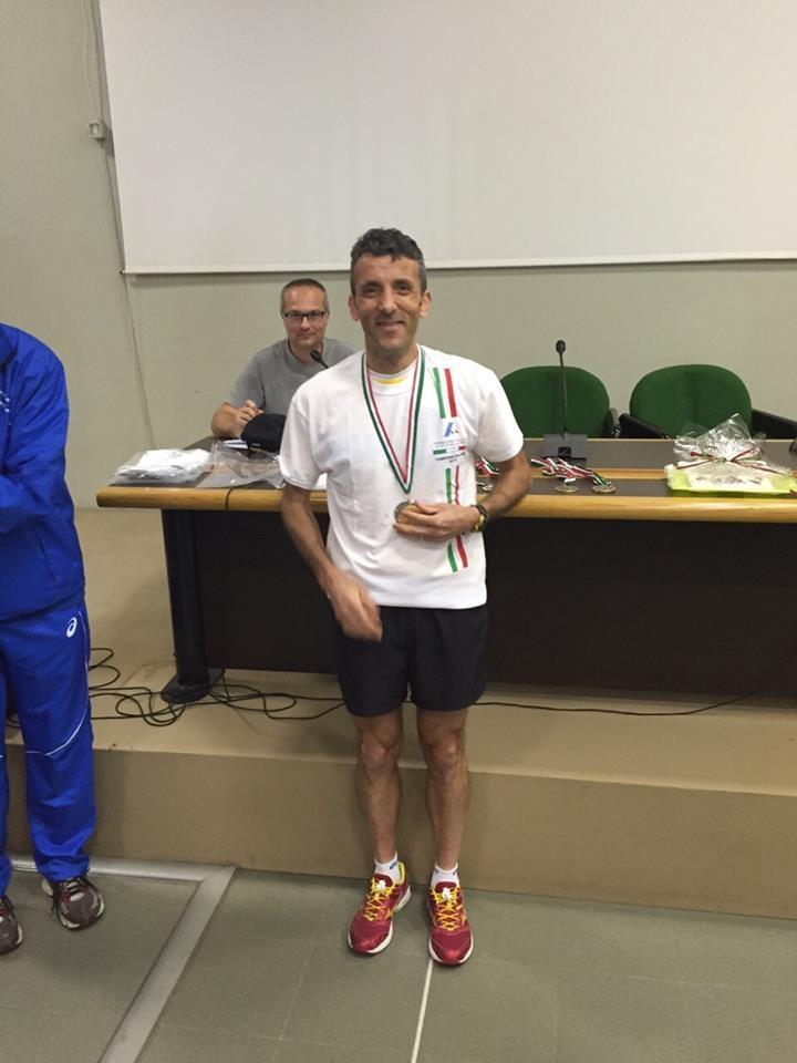 Edimaro Donnini vice campione italiano di Trail