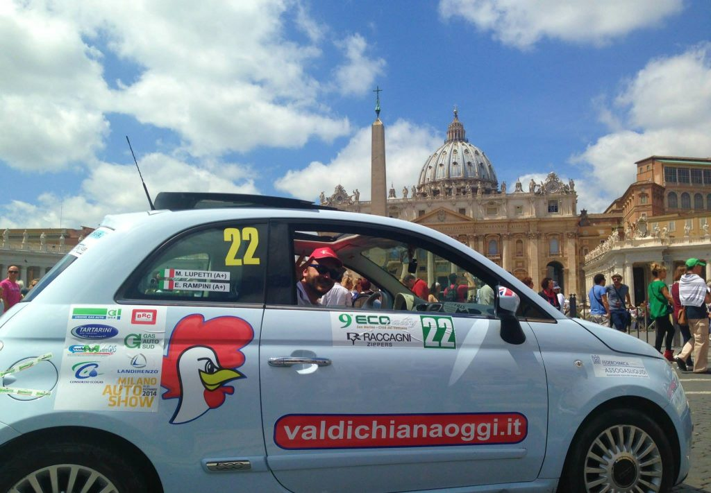 EcoRally San Marino - Vaticano domani al via: un percorso durissimo e la 'Scatola Verde'