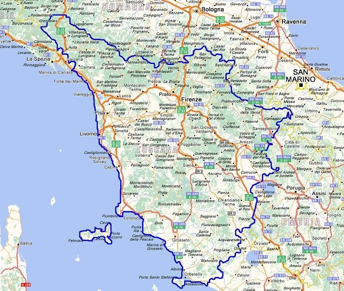 Un tour della Toscana, tra cultura e natura