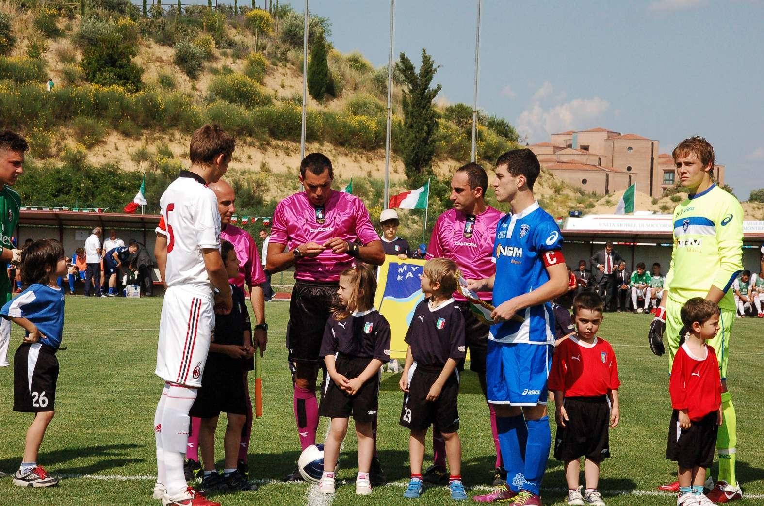 Montepulciano: La Carta Etica dello Sport debutta nelle finali nazionali di calcio giovanile