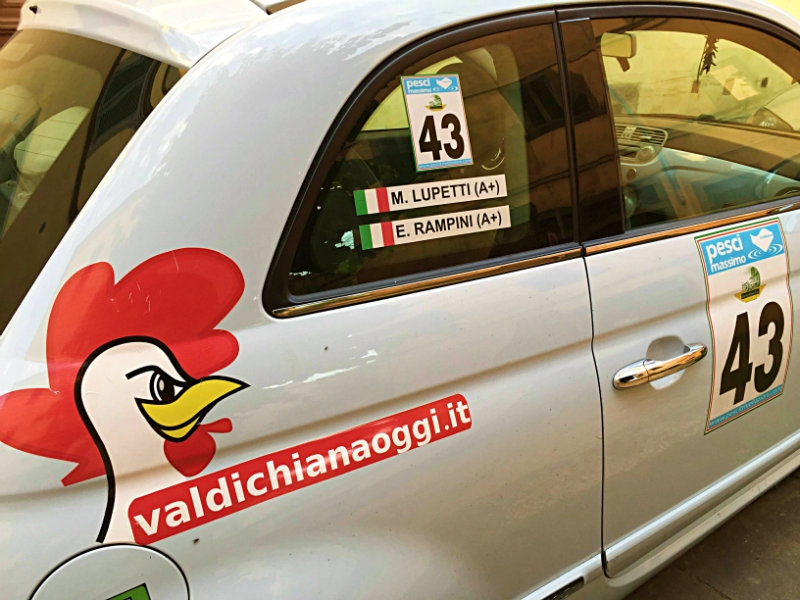 Rally di Cortona, gli orari e il percorso. ValdichianaOggi è in gara