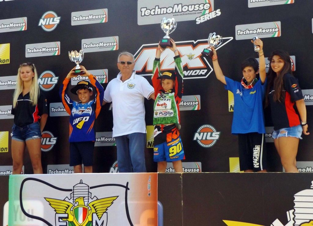 Morgan Bennati terzo ai Campionati italiani di Motocross