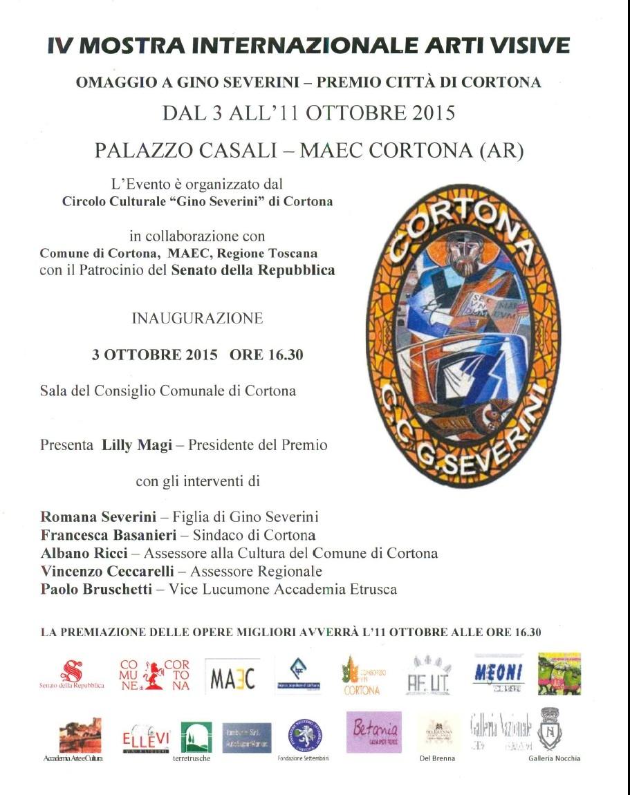 A Cortona la 'Mostra Internazionale delle Arti Visive'