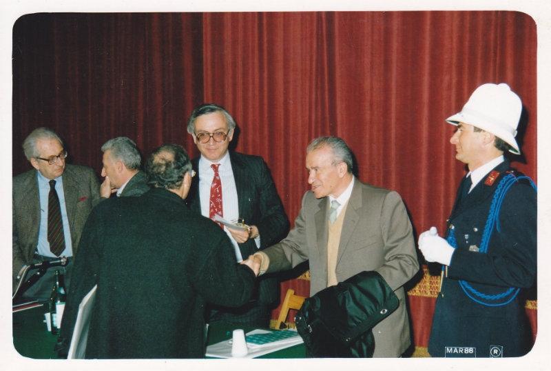 Ingrao a Cortona, correva l'anno 1988