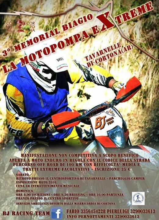 A Cortona torna il Memorial Biagio 'Motopompa Extreme'