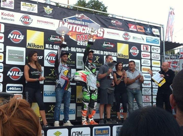 Motocross: Titolo italiano MX1a Manuel Beconcini