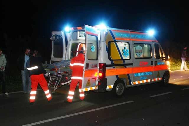 Comitiva di Castiglion Fiorentino coinvolta in un gravissimo incidente stradale a Gubbio
