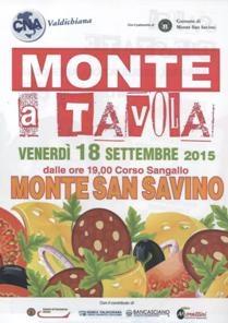 Gastronomia ed eventi a Monte San Savino con 'Monte a tavola'
