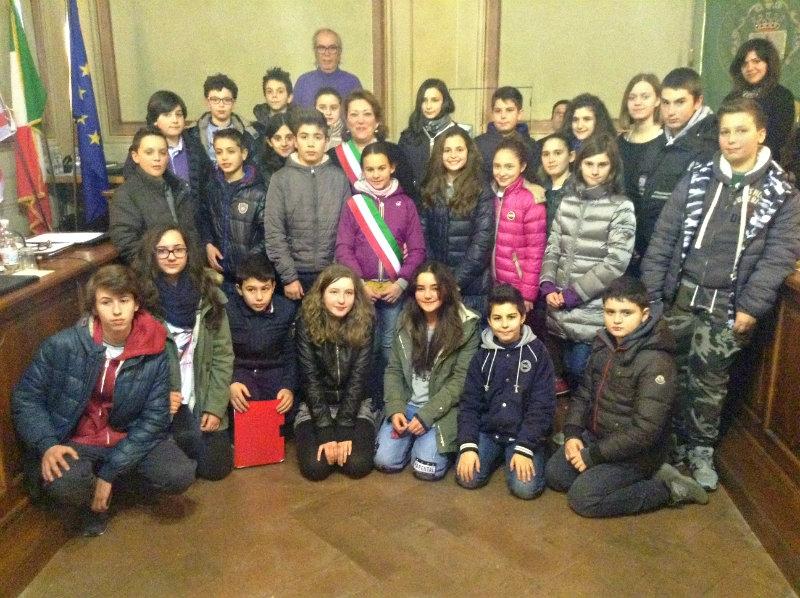 Lettera dell'Amministrazione Comunale di Monte San Savino per l'inizio dell'anno scolastico