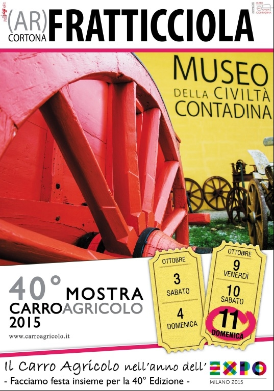 Mostra del Carro Agricolo: l'inaugurazione sarà all'Expo