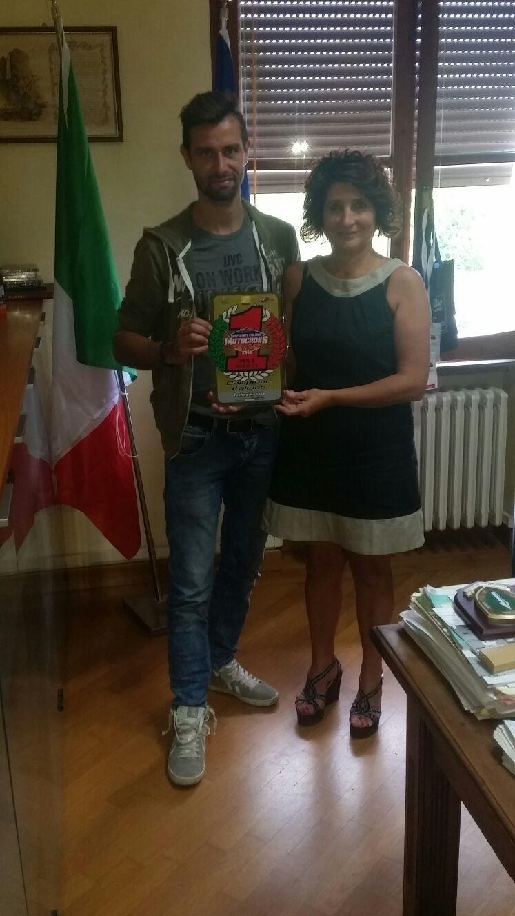 Il team MDM Racing di Ciggiano premiato dall'Amministrazione Comunale