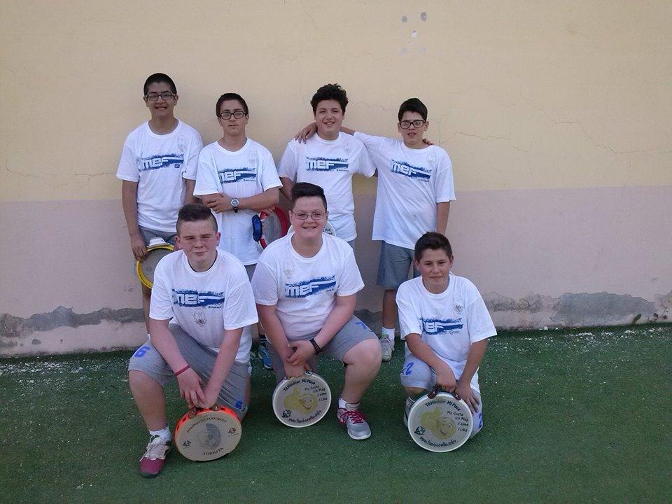 Otto ragazzi di Torrita alle finali nazionali di Tamburello
