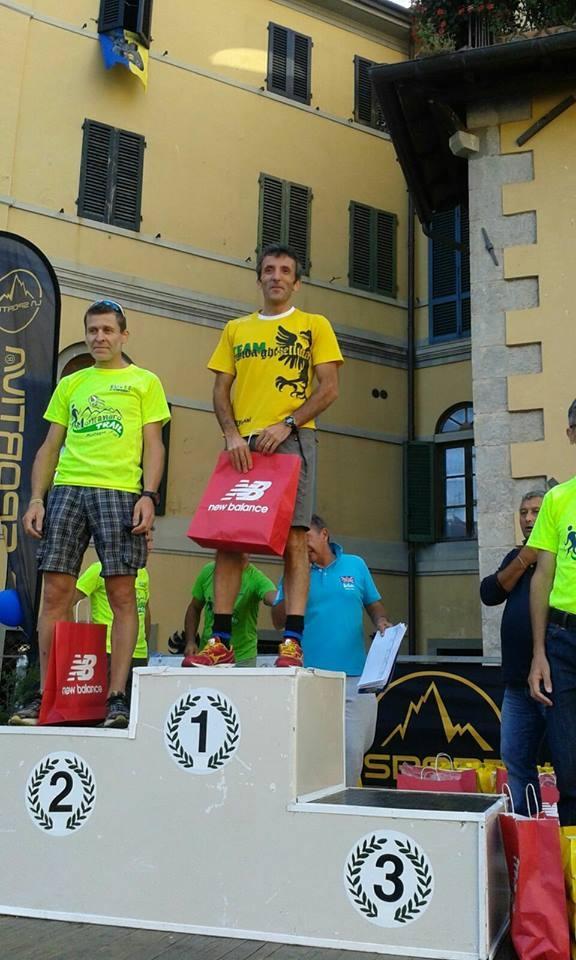 Edimaro Donnini trionfa nella 'Montanaro Trail'