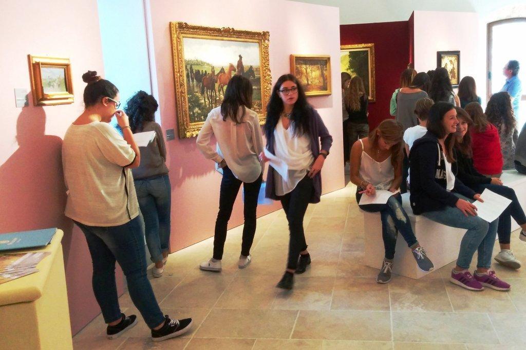 Montepulciano, record di studenti per la mostra 'Dalla Macchia al Decadentismo'