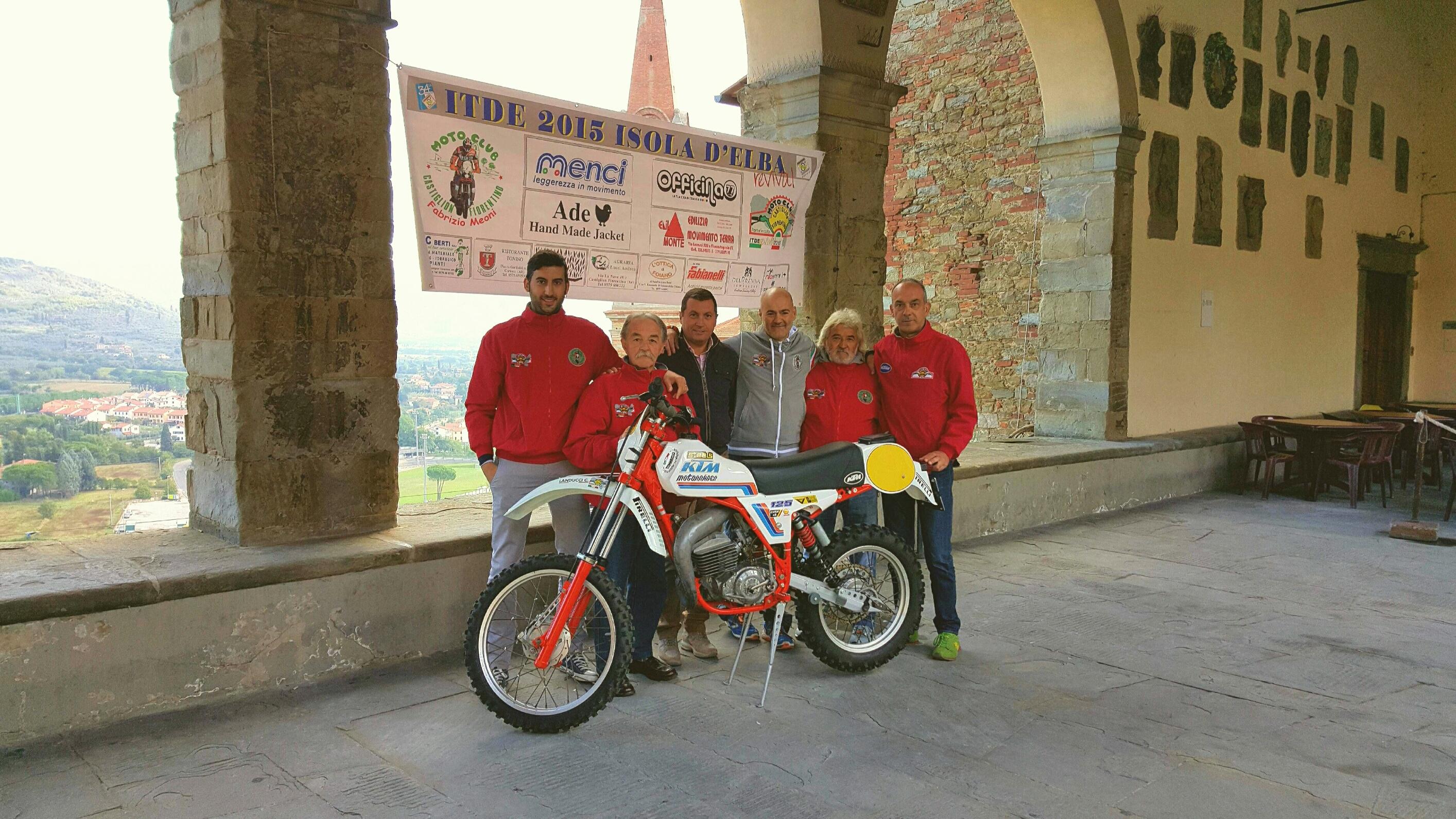 Il Moto Club Castiglion Fiorentino torna all'Elba 34 anni dopo Meoni