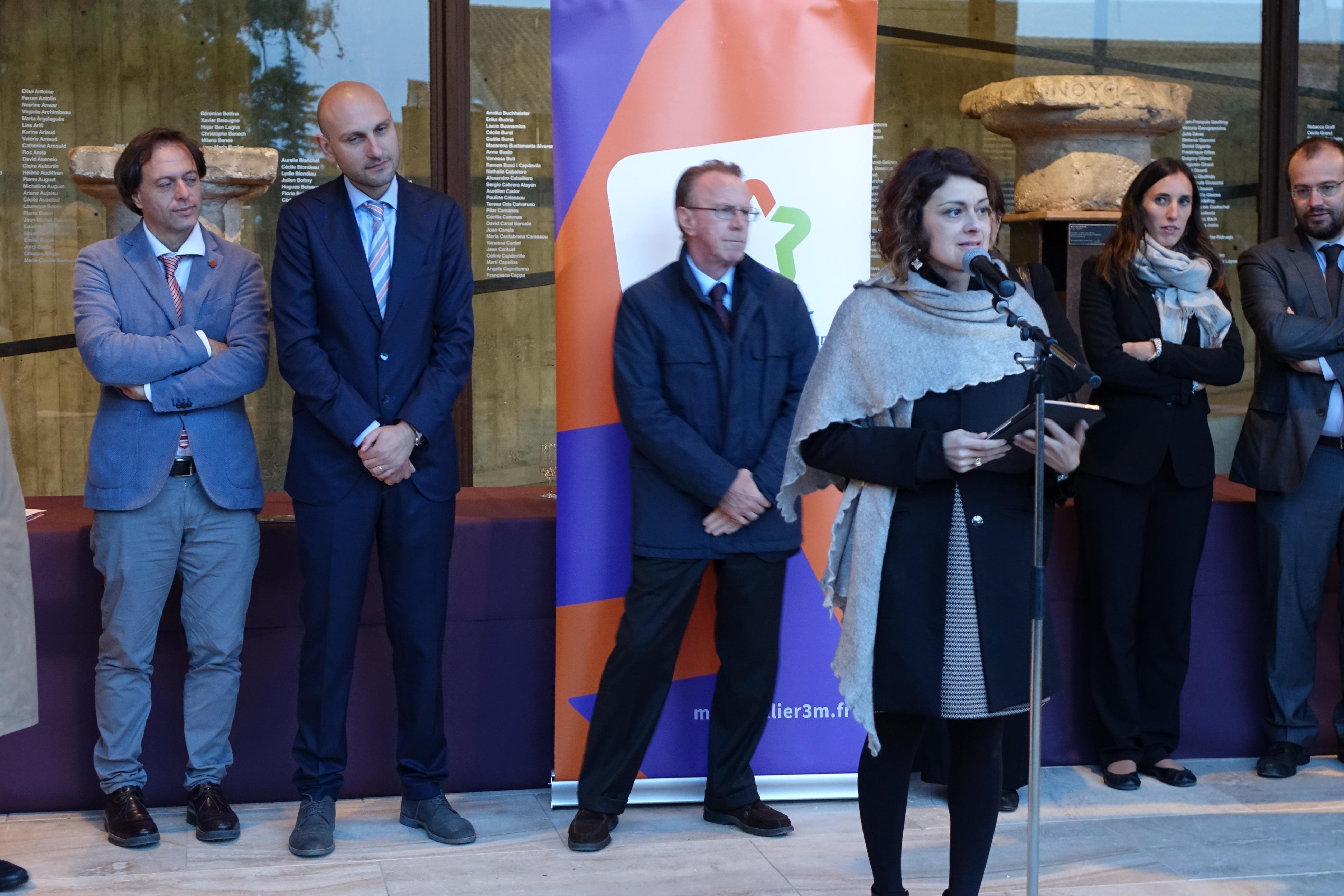 La Mostra 'Gli Etruschi maestri di scrittura' inaugurata a Lattes