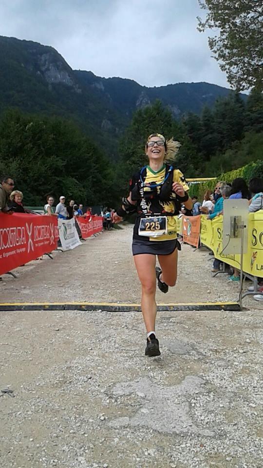 Ottimo risultato per Elisa Canocchi al 'Trail degli eroi'