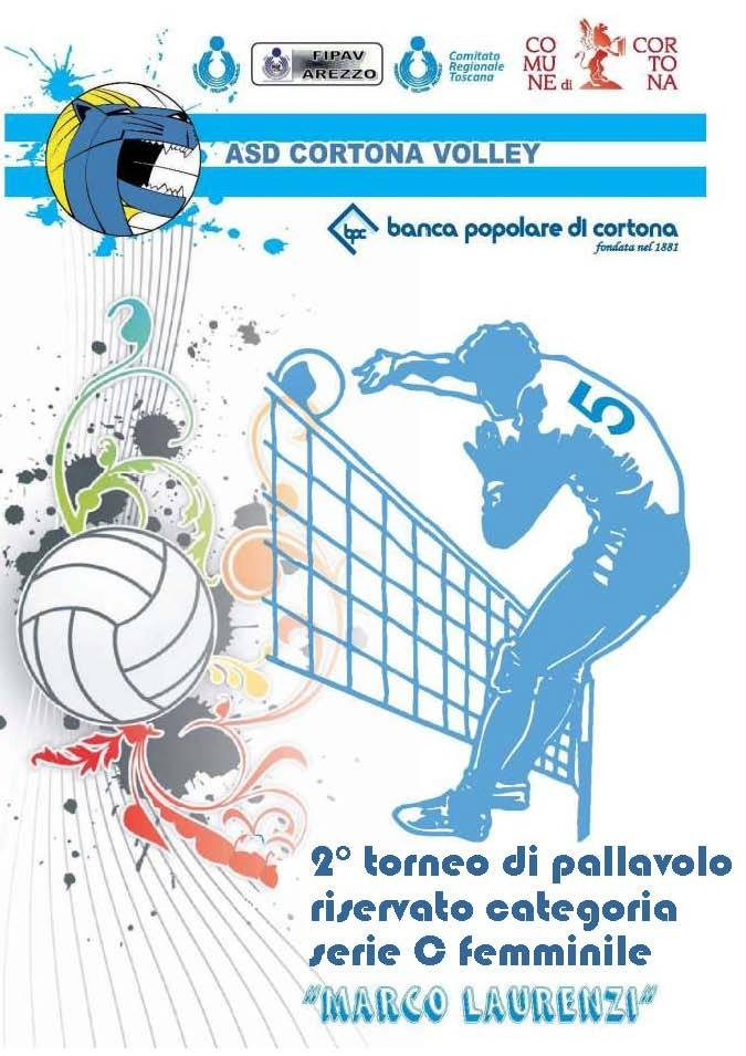 Volley: a Cortona il Memorial 'Marco Laurenzi'