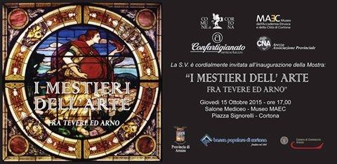 I Mestieri dell'Arte fra Tevere ed Arno, nuova mostra a Cortona