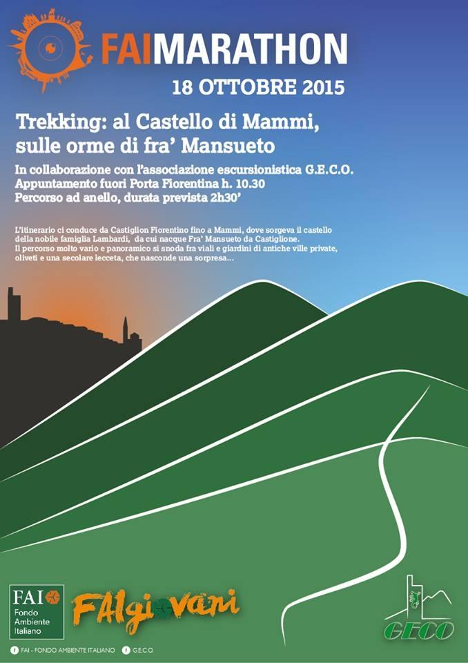 La Fai Marathon domenica a Castiglion Fiorentino