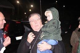 Il Vescovo Fontana in visita pastorale nella sede della Polisportiva Val di Loreto