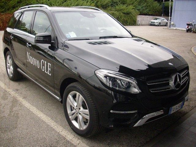 Mercedes GLE: gran lusso ed eleganza