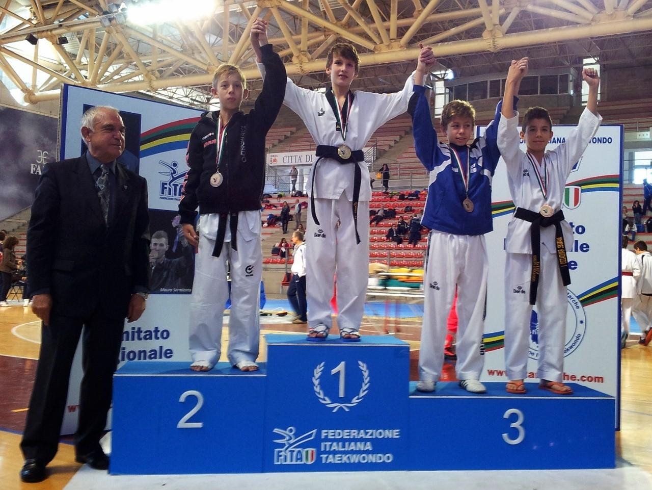 Taekwondo, Andrea Conti oro nell'Interregionale Marche