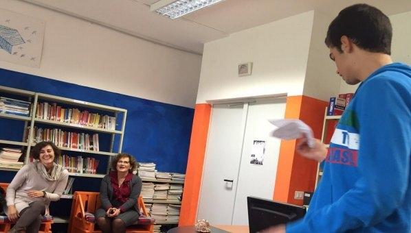 Gli studenti del Laparelli e del Severini raccontano 'Libriamoci'