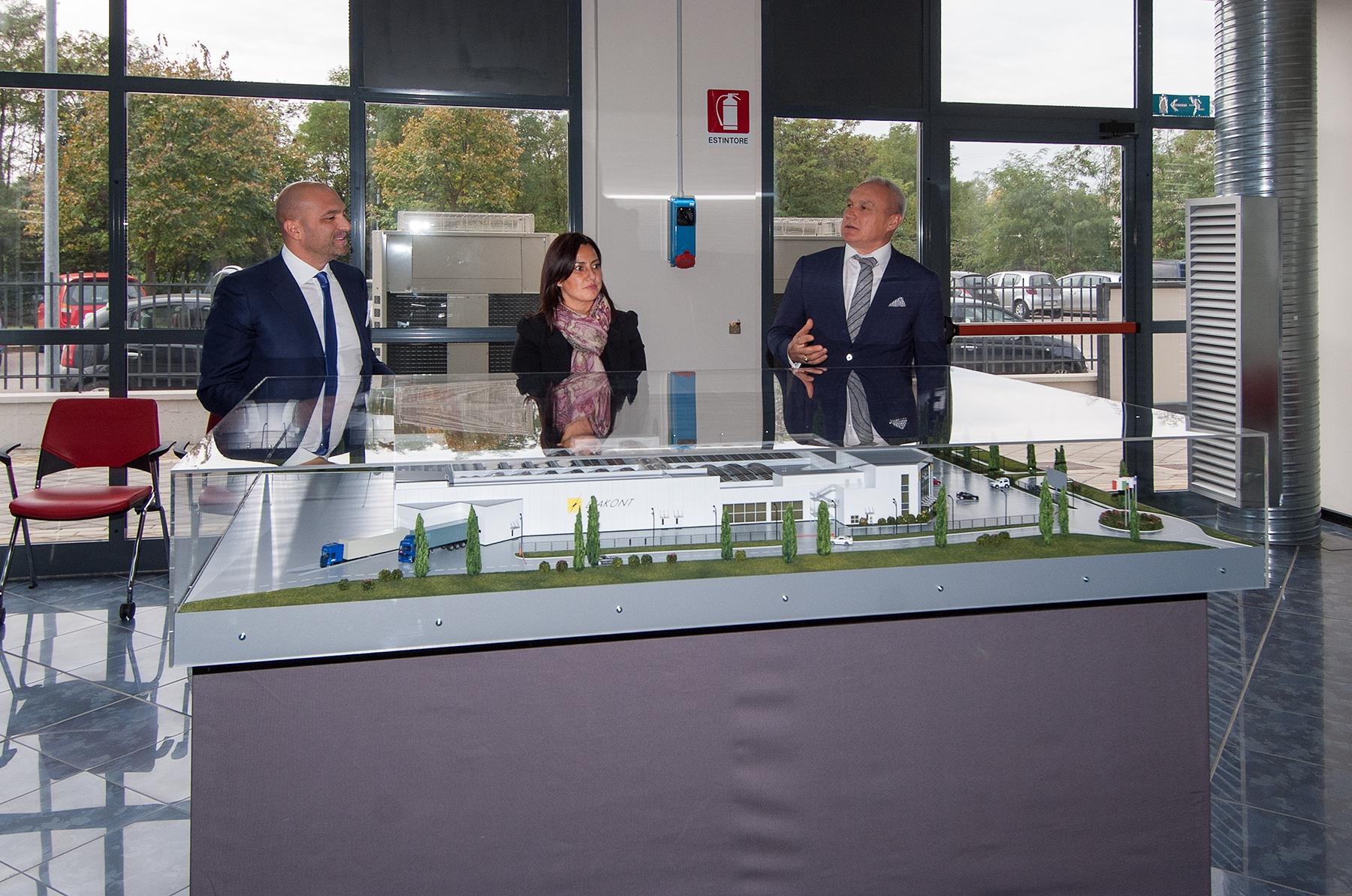 Ecco il progetto di Diakont per Lucignano: uno stabilimento di oltre 11mila mq