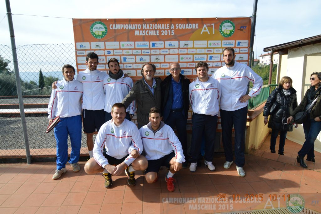 Tennis: sfiora l'impresa il TC Sinalunga contro il Park Genova