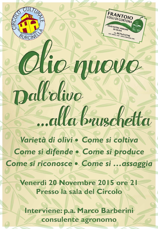 Olio extravergine di oliva, incontro di approfondimento a Fratta
