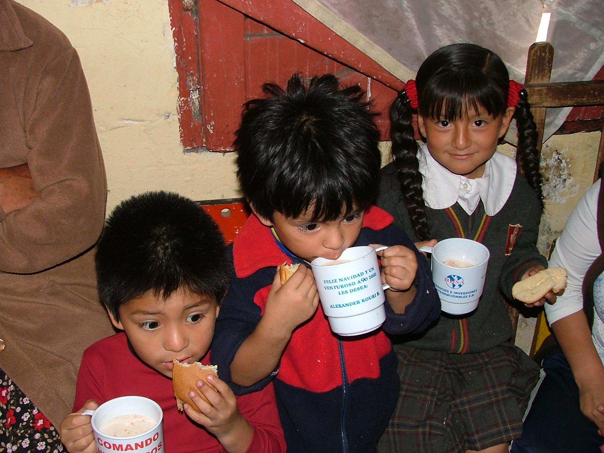 La 'Solidarietà in buone mani' ritorna in Perù