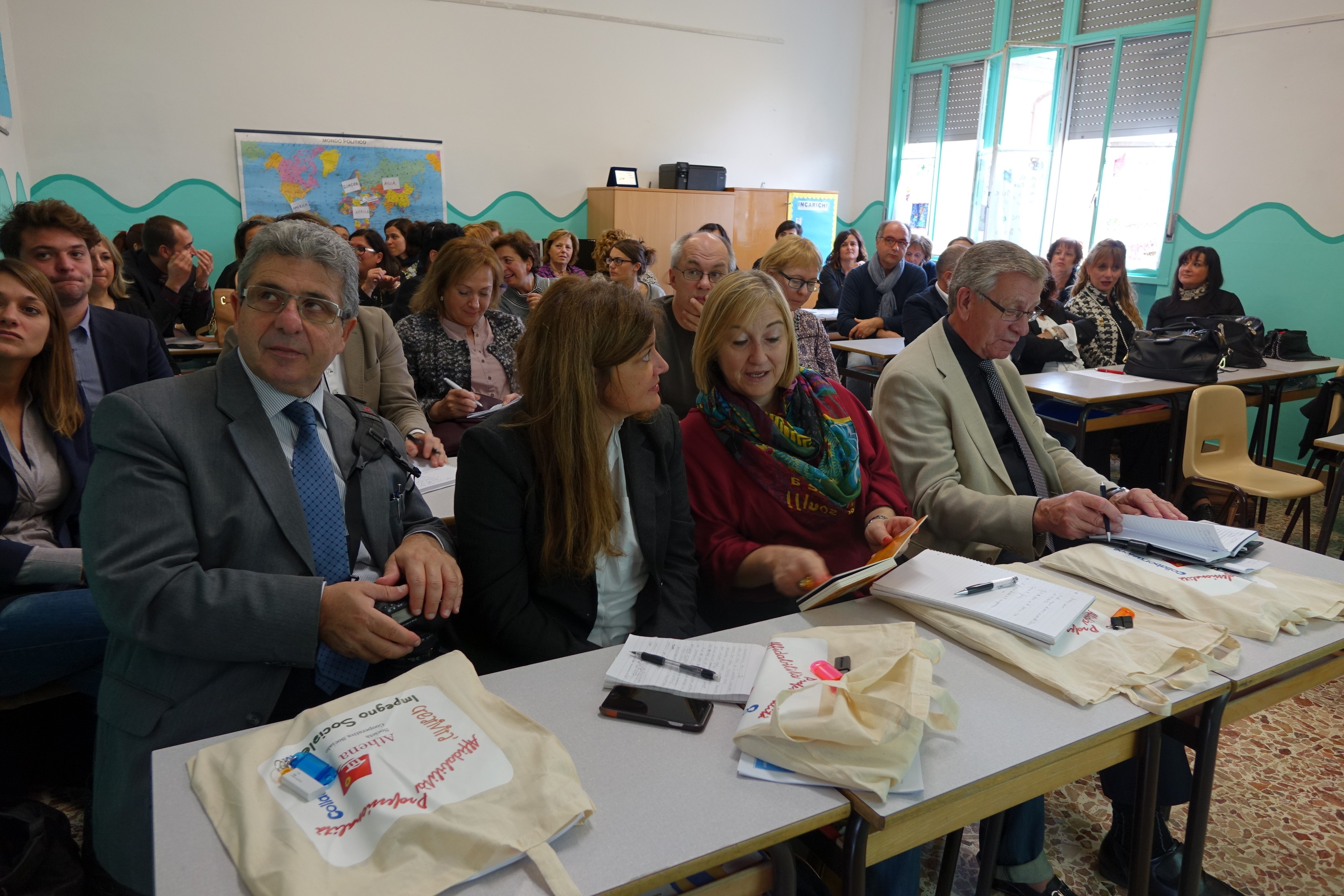 Cortona, resoconto della visita dell'Agenzia Europea per i Bisogni Educativi Speciali