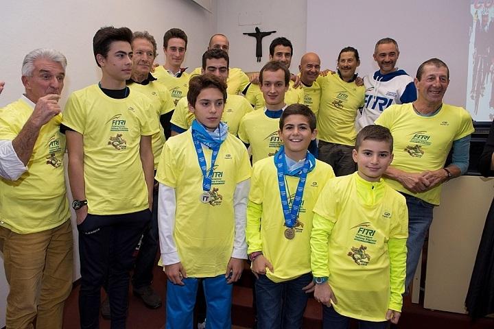 Festa del Triathlon toscano, premiati 3 atleti della Vis Cortona