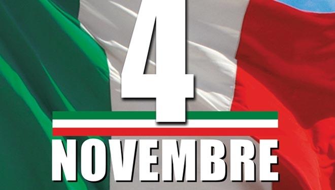 Monte San Savino: celebrazioni per il 4 Novembre, Giornata delle Forze Armate