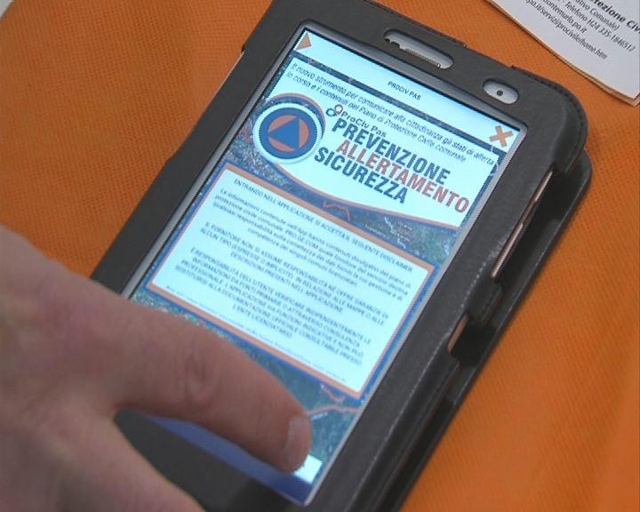 Una App per informare su stati d'allerta e Protezione Civile