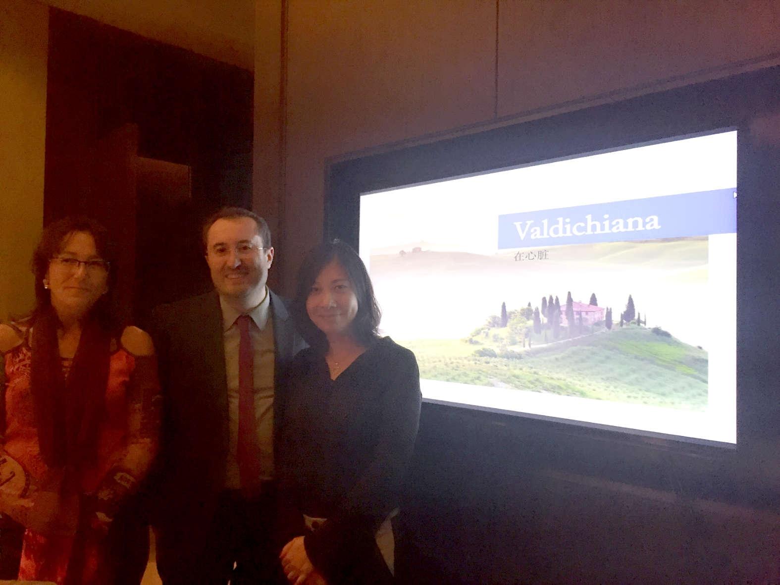 La Valdichiana senese in Cina: partita la 'missione'