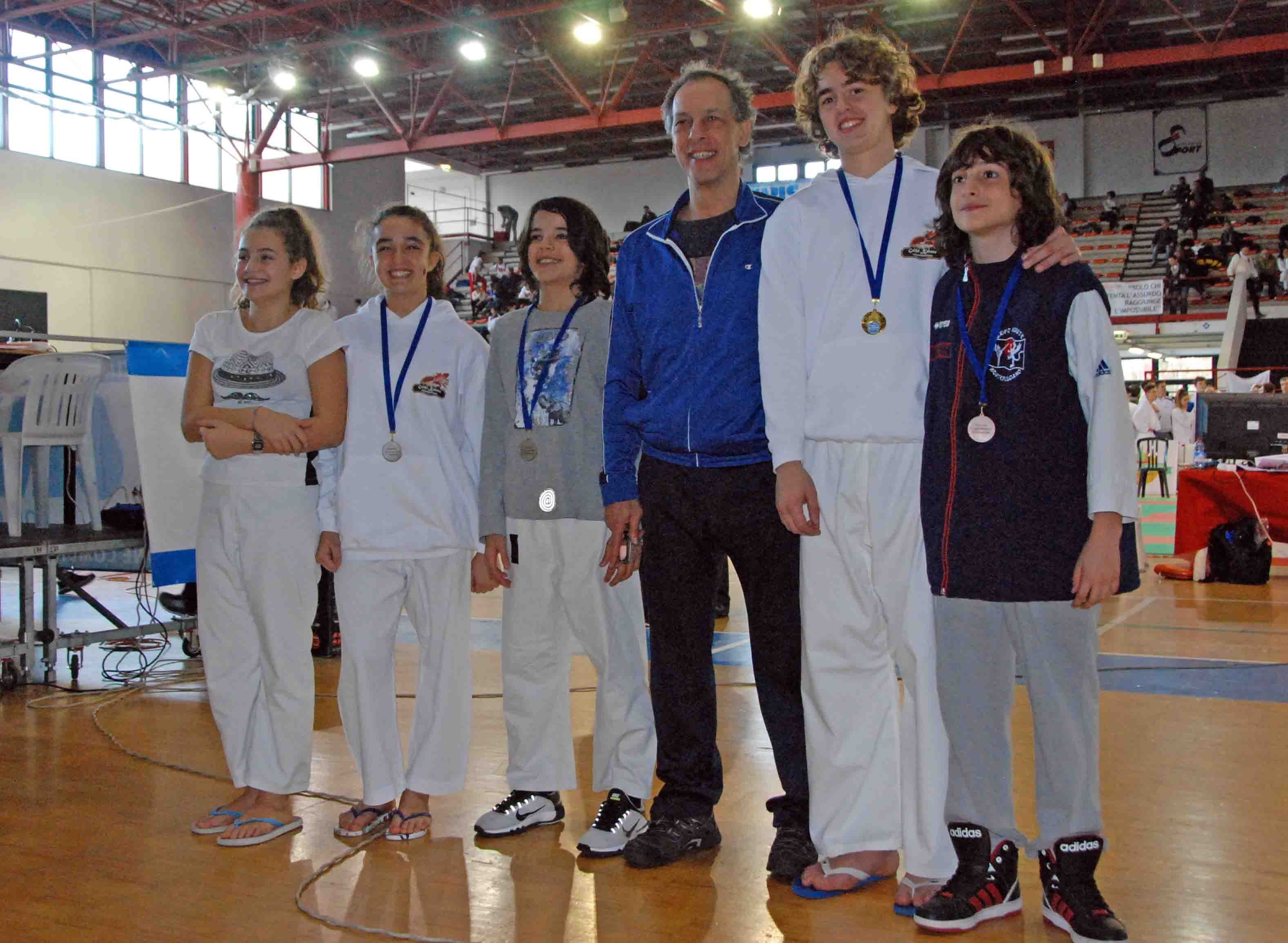 Quattro medaglie per la Grifo Karate di Montepulciano nel Trofeo Toscana