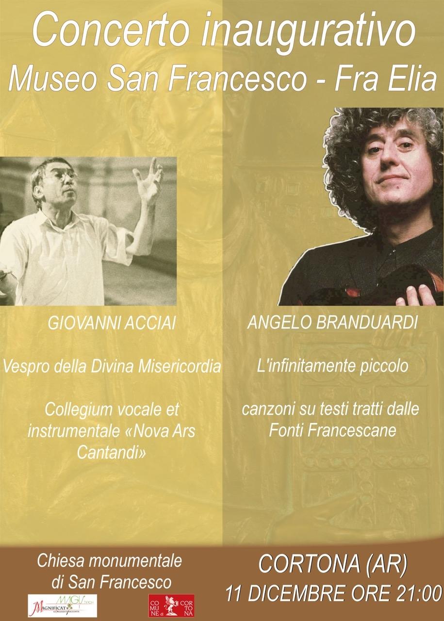 Nuovo Museo di San Francesco e Frate Elia a Cortona, inaugurazione l'11 Dicembre