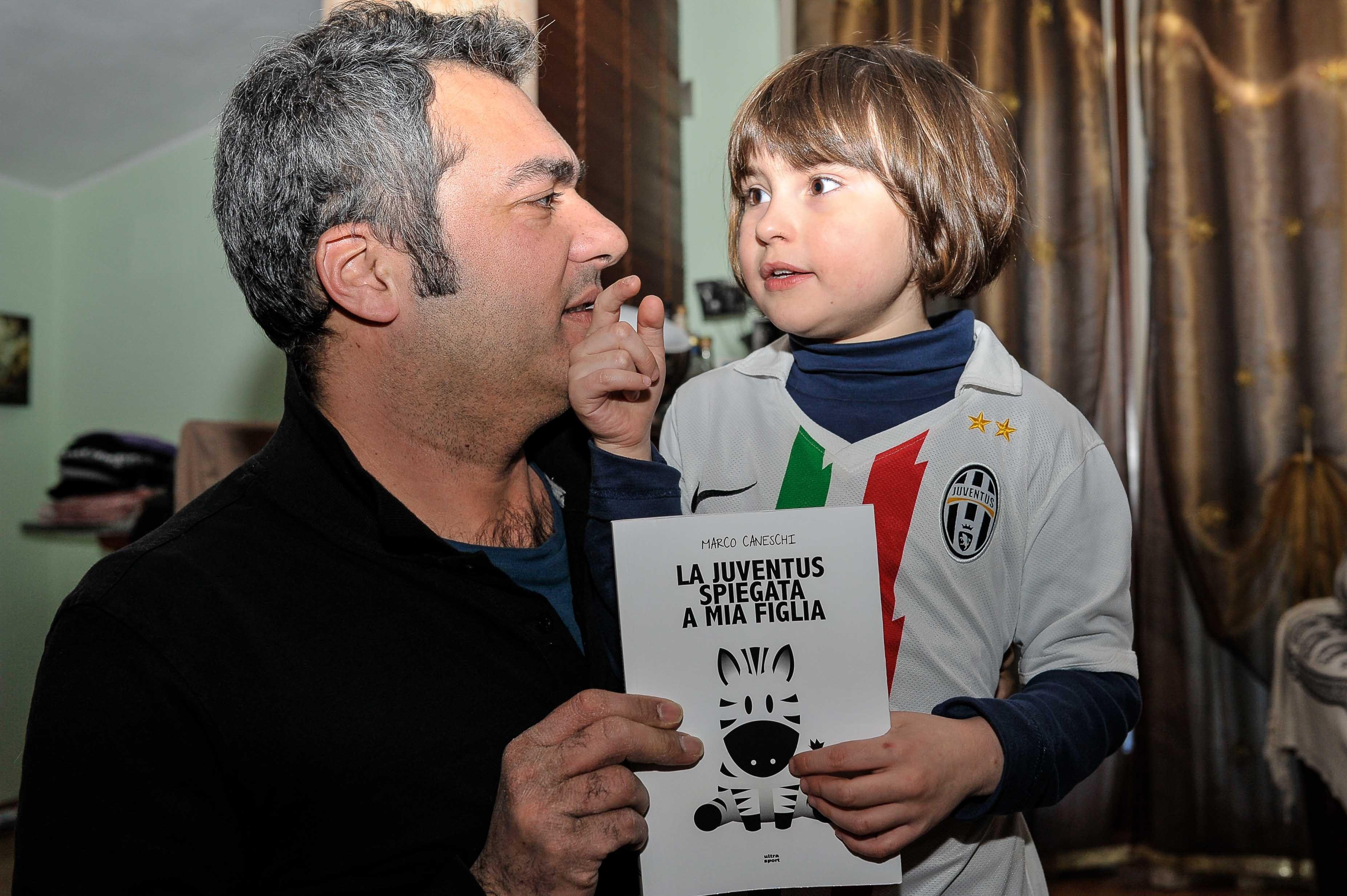 'La Juventus spiegata a mia figlia', il libro di Marco Caneschi sarà presentato a Camucia