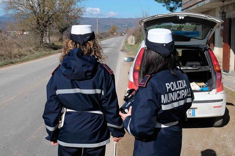 Cortona, Polizia Municipale: i numeri dell'attività nel 2015