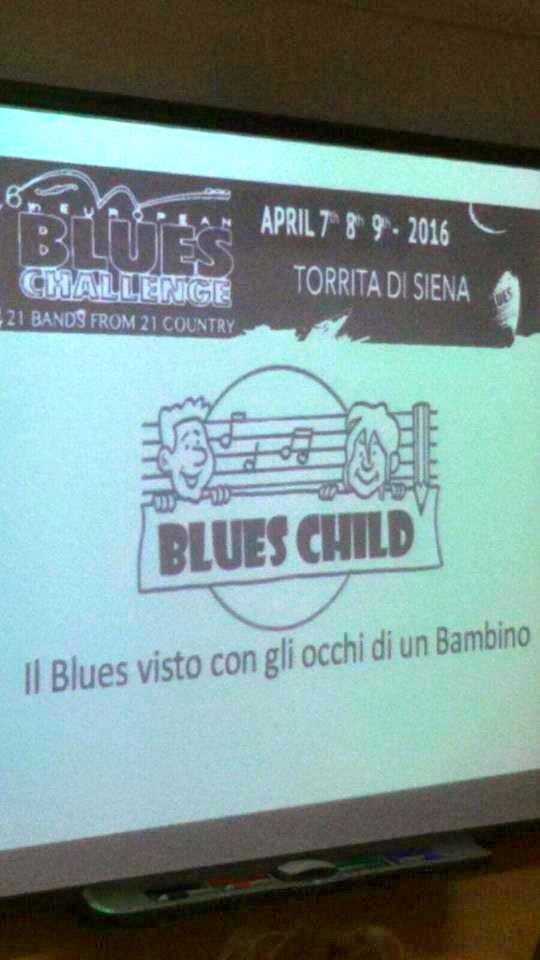 Blues Child, concorso di disegno per European Blues Challange
