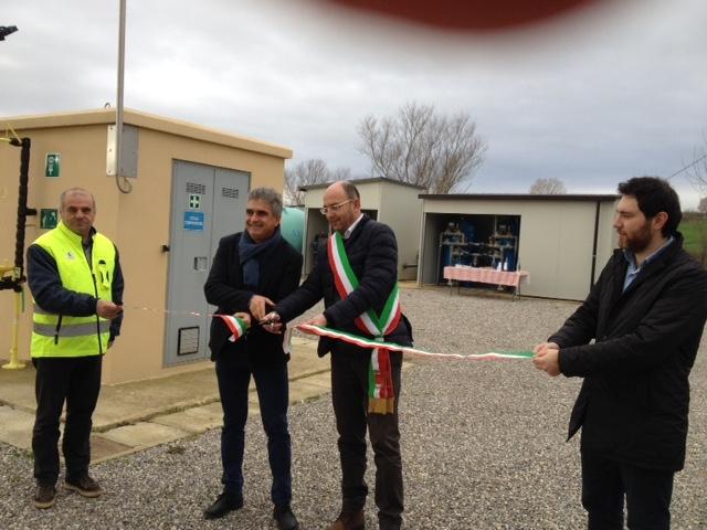 Inaugurato il nuovo potabilizzatore a Foiano della Chiana