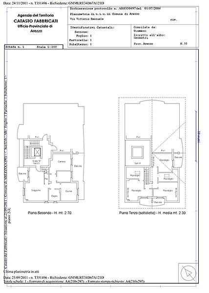 Planimetrie catastali, istruzioni per l'uso