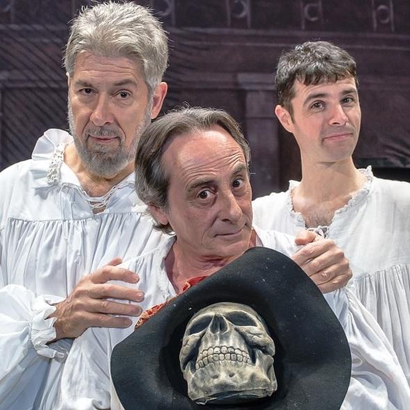 Benvenuti e Formicola al Poliziano con 'Tutto Shakespeare in 90 minuti'