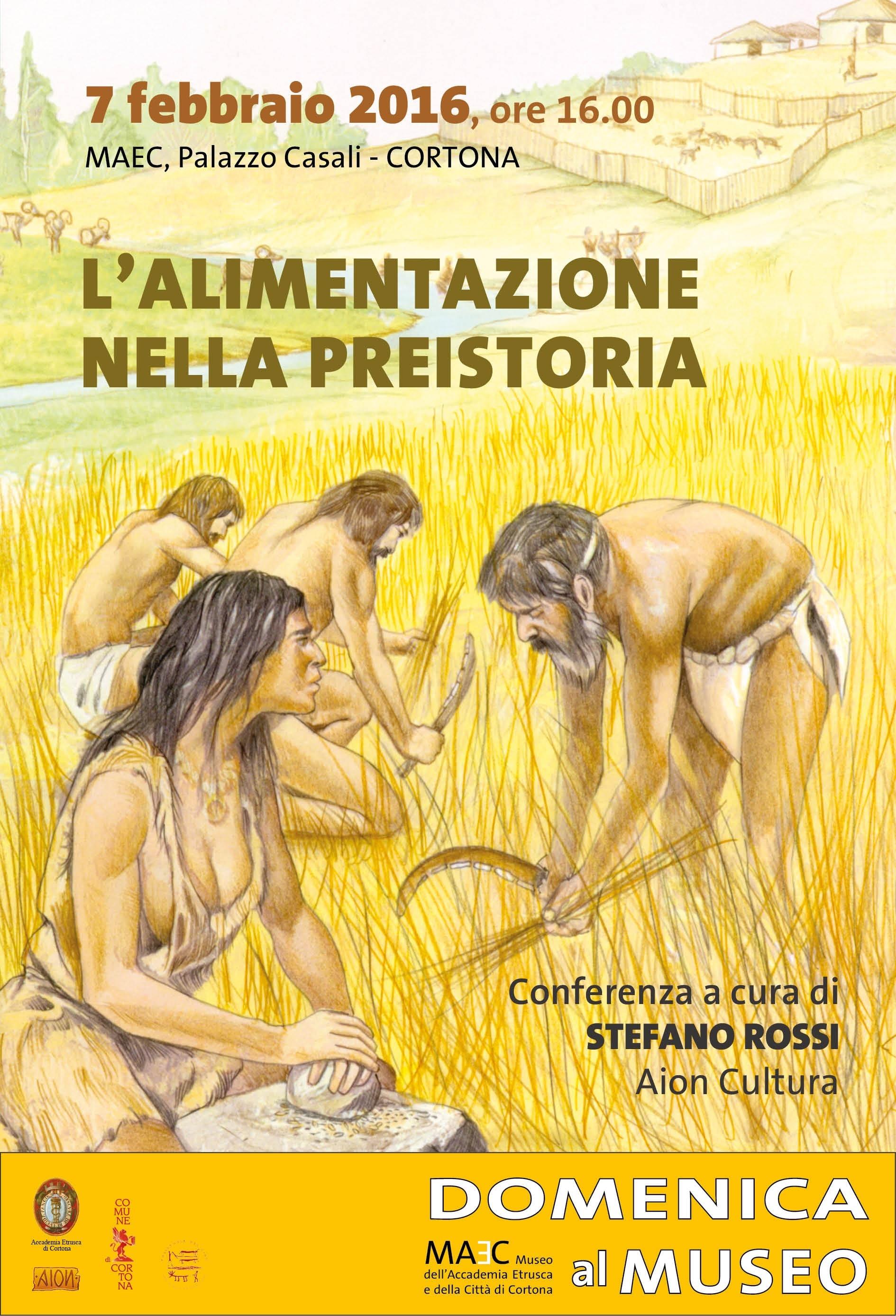 Appuntamento al Maec con l'Alimentazione nella preistoria