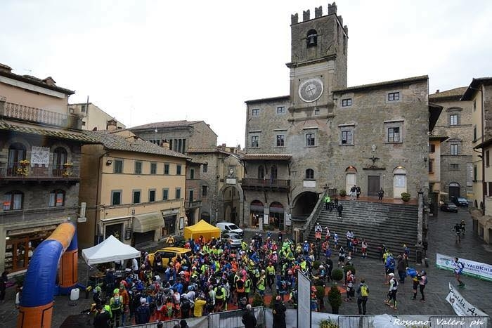 Trail Città di Cortona: oltre 300 partecipanti e tanto entusiasmo