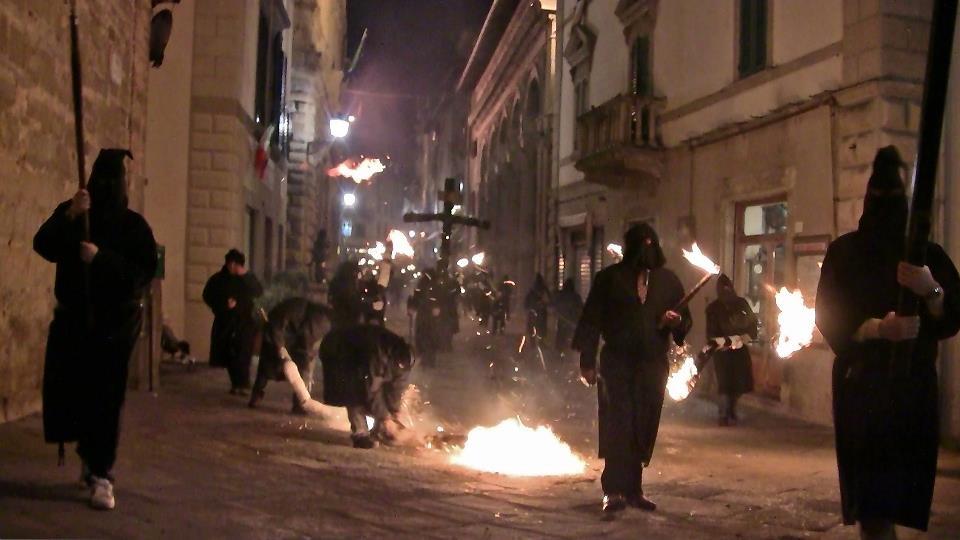 Monte San Savino: le processioni della Settimana Santa