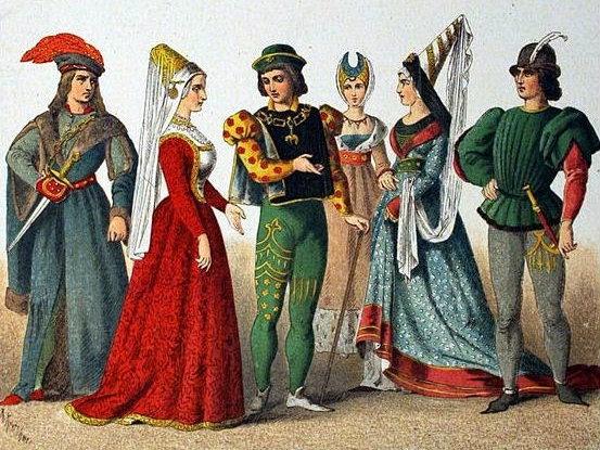 Medioevo Medioevo Nel Nel Vestiti Bambini Bambini Vestiti tdhsQr